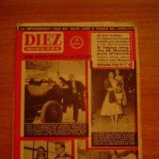 Coleccionismo de Revista Diez Minutos: REVISTA DIEZ MINUTOS MADRID- BARCELONA 10 MAYO 1959. Nº 402. Lote 16354636