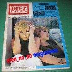 Coleccionismo de Revista Diez Minutos: DIEZ MINUTOS 773/1966 PILI Y MILI~STEFANIA SANDRELLI~ADRIAN CONAN DOYLE (SHERLOCK HOLMES). Lote 25988267