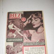 Coleccionismo de Revista Diez Minutos: DIEZ MINUTOS - SEPTIEMBRE 1954. Lote 20048361