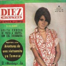 Coleccionismo de Revista Diez Minutos: DIEZ MINUTOS - 11 DE SETIEMBRE DE 1965 - Nº 733. Lote 182132428