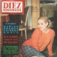 Coleccionismo de Revista Diez Minutos: DIEZ MINUTOS 8 MAYO DE 1965 Nº 715. Lote 25491384