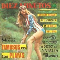 Collectionnisme de Magazine Diez Minutos: DIEZ MINUTOS - 11/8/1973 Nº 1.146. Lote 25689291
