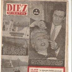 Coleccionismo de Revista Diez Minutos: DIEZ MINUTOS - 16/5/1954 Nº 142. Lote 25999419