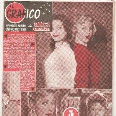 Coleccionismo de Revista Diez Minutos: DIEZ MINUTOS - ENERO DE 1958 . Lote 25705888