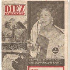 Coleccionismo de Revista Diez Minutos: DIEZ MINUTOS - 20/01/1957 Nº282. Lote 25705890