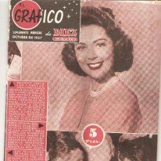 Coleccionismo de Revista Diez Minutos: DIEZ MINUTOS - OCTUBRE DE 1957. Lote 25706106