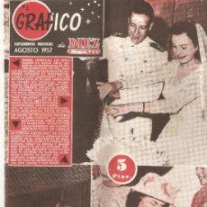 Coleccionismo de Revista Diez Minutos: DIEZ MINUTOS - AGOSTO DE 1957. Lote 25706110