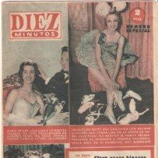 Coleccionismo de Revista Diez Minutos: REVISTA DIEZ MINUTOS - 13 DE MAYO DE 1956 Nº 246. Lote 25706113