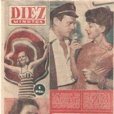 Coleccionismo de Revista Diez Minutos: REVISTA DIEZ MINUTOS - AGOSTO DE 1956 Nº 259. Lote 25706118