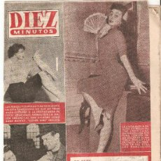 Coleccionismo de Revista Diez Minutos: REVISTA DIEZ MINUTOS - FEBRERO 1956 Nº 234. Lote 25706122