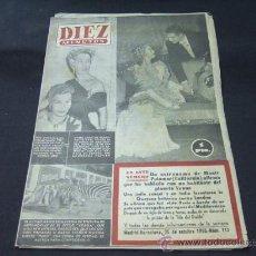 Coleccionismo de Revista Diez Minutos: DIEZ MINUTOS - 25 OCTUBRE 1953 - VIVIEN LEIGH - . Lote 21712998