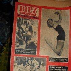 Coleccionismo de Revista Diez Minutos: REVISTA DIEZ MINUTOS. AÑO 1960. Lote 26808455