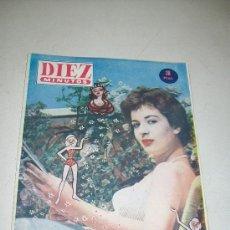 Coleccionismo de Revista Diez Minutos: DIEZ MINUTOS,EXTRAORDINARIO DE VERANO DE1956-DE 36 PÁG.ILUSTRADAS, INFORMACIÓN Y ANUNCIOS. Lote 27374873