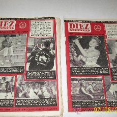 Coleccionismo de Revista Diez Minutos: DIEZ MINUTOS,NSº420 AL 429- 9 REVISTAS-1959-DE 20/24 PÁG.ILUSTRADAS, INFORMACIÓN Y ANUNCIOS. Lote 27375633