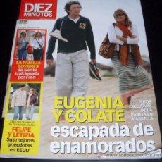 Coleccionismo de Revista Diez Minutos: REVISTA DIEZ MINUTOS - NUM 2774 - 22 OCTUBRE 2004. Lote 28237259