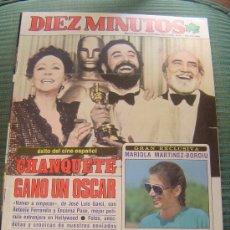 Coleccionismo de Revista Diez Minutos: REVISTA DIEZ MINUTOS.. Lote 28663802
