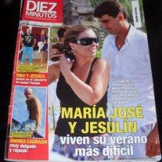 Coleccionismo de Revista Diez Minutos: DIEZ MINUTOS - REVISTA - NUM 3131 - 24 AGOSTO 2011 . Lote 28686700