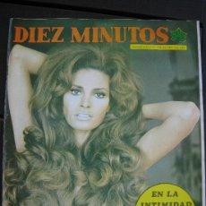 Coleccionismo de Revista Diez Minutos: 1974. DIEZ MINUTOS Nº 1168. RAQUEL WELCH MONICA RANDALL. Lote 28720336