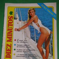 Coleccionismo de Revista Diez Minutos: DIEZ MINUTOS EXTRA 1977~AMEL AMOR~AGOSTINA BELLI~YVONNE SENTIS~STEFANIA CASINI~GIANNI BELLA. Lote 272034013