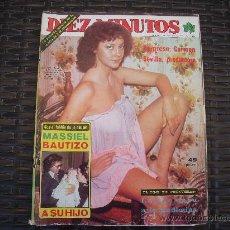 Coleccionismo de Revista Diez Minutos: REVISTA DIEZ MINUTOS DEL 22/10/1977. Lote 29099678