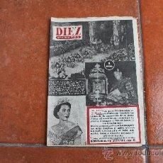 Coleccionismo de Revista Diez Minutos: REVISTA DIEZ MINUTOS Nº 93; AÑO 1953. Lote 29149681