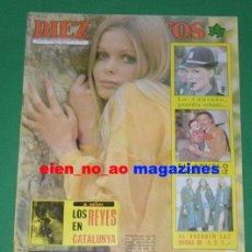 Coleccionismo de Revista Diez Minutos: DIEZ MINUTOS 1557/1980~UN,DOS,TRES~SARA LEZANA~MARGARET LEE~LA NARANJA MECANICA~SAL MINEO. Lote 29185826