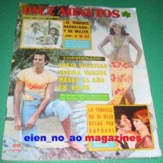 Coleccionismo de Revista Diez Minutos: DIEZ MINUTOS 1346/1977~JULIO IGLESIAS~MUSICAL MALLORCA~STEVE FORREST~NADIUSKA~PALOMA SAN BASILIO. Lote 29187851