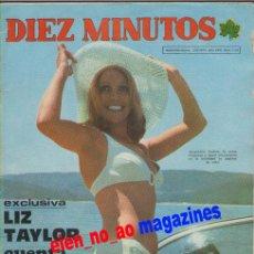 Coleccionismo de Revista Diez Minutos: DIEZ MINUTOS 1143/1973~JACQUELINE ANDERE~LIZ TAYLOR~SYDNE ROME~MICHAEL YORK~MISS BARCELONA. Lote 29274859