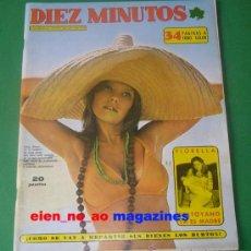 Coleccionismo de Revista Diez Minutos: DIEZ MINUTOS 1151/1973~ELIZABETH TAYLOR~ANTOINE~BARBARA REY~JEANETTE~VERONICA LUJAN. Lote 29275358