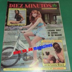 Coleccionismo de Revista Diez Minutos: DIEZ MINUTOS~MARISOL ANTONIO GADES~JAMES BOND~IGNACIO F. IQUINO~LARA SANDER~CARMEN SEVILLA~ASTURIAS. Lote 29572381