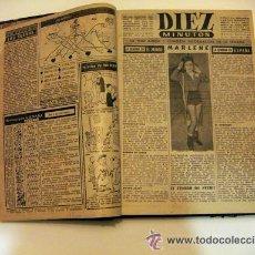 Coleccionismo de Revista Diez Minutos: REVISTA DIEZ MINUTOS 1953 ENCUADERNADA. Lote 29715988