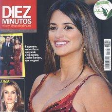 Coleccionismo de Revista Diez Minutos: 10 MINUTOS 3107 - LETIZIA-PENELOPE MAMÁ-AMAPARO MUÑOZ MUERTE ANUNCIADA-TOÑI SALAZAR-NUEVA. Lote 140140649