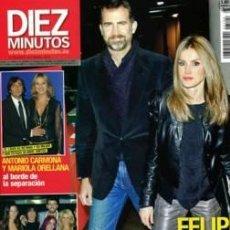Coleccionismo de Revista Diez Minutos: DIEZ MINUTOS 3104 - FELIPE Y LETIZIA - LUZ CASAL - PIQUÉ/SHAKIRA - ANTONIO CARMONA - CARBONERO-NUEVA. Lote 30588065
