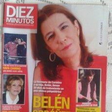 Coleccionismo de Revista Diez Minutos: REVISTA DIEZ MINUTOS - DICIEMBRE 2009 - BELÉN ORDOÑEZ . Lote 30920721