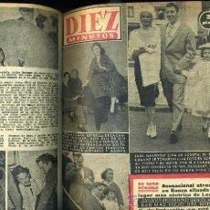 Coleccionismo de Revista Diez Minutos: DIEZ MINUTOS : AÑO COMPLETO 1958 - 53 NÚMEROS - . Lote 30997267