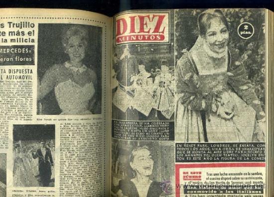 Coleccionismo de Revista Diez Minutos: DIEZ MINUTOS : AÑO COMPLETO 1958 - 53 NÚMEROS - - Foto 3 - 30997267