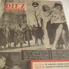 Coleccionismo de Revista Diez Minutos: DIEZ MINUTOS NOVIEMBRE 1952 NUMERO 65. Lote 31164233