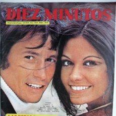 Coleccionismo de Revista Diez Minutos: DIEZ MINUTOS NUM.1.075-1-4-1972-RAPHAEL-FOTOS VIAJE DE NOVIOS DE DON ALFONSO Y MARIA DEL CARMEN. Lote 31278058
