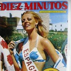 Collezionismo di Rivista Diez Minutos: DIEZ MINUTOS NUM 1.088-1-7-1972-MANOLO ESCOBAR. Lote 47256509