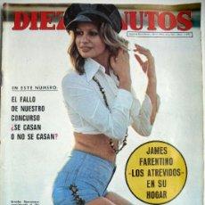 Coleccionismo de Revista Diez Minutos: DIEZ MINUTOS NUM 1108-18-11-72-LOS PRINCIPES DE ESPAÑA EN LA CONMEMORACION 125 ANIVERSARIO DEL LICEO. Lote 31345329