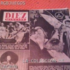Coleccionismo de Revista Diez Minutos: REVISTA DIEZ MINUTOS AÑO 1953 Nº 101. Lote 31832471