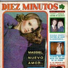 Coleccionismo de Revista Diez Minutos: DIEZ MINUTOS Nº 1287-CARMEN SEVILLA-ROCIO Y JUNIOR-MICHAEL DOUGLAS- POSTER-1976 *. Lote 31954307