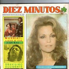 Coleccionismo de Revista Diez Minutos: DIEZ MINUTOS Nº 1314*1976*-CARMEN SEVILLA - MASSIEL- CONTIENE DOS POSTER !!! *. Lote 31954597