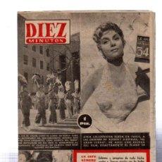 Coleccionismo de Revista Diez Minutos: REVISTA DIEZ MINUTOS, 1953, Nº 114, PEREGRINOS A SIRACUSA, MERCADO DE ESCLAVOS, GINA LOLLOBRIGIDA. Lote 31963892