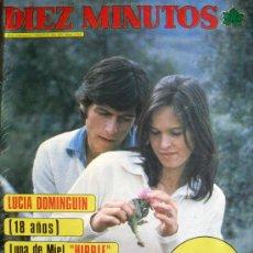 Collezionismo di Rivista Diez Minutos: DIEZ MINUTOS Nº 1234- 19/4/75-ANGELA MOLINA-CARMEN SEVILLA-LOLITA-MARUJA DIAZ-JULIO IGLESIAS. Lote 32223456