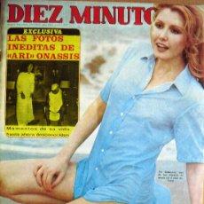 Coleccionismo de Revista Diez Minutos: DIEZ MINUTOS Nº 1252- 23/8/75-MARISOL-MONTSERRAT CABALLE-CONCHITA MARQUEZ PIQUER-PRINCIPES DE ESPAÑA. Lote 32236025