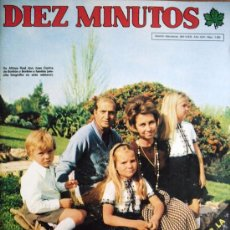 """Coleccionismo de Revista Diez Minutos: DIEZ MINUTOS Nº 1265- 29/11/75-FRANCISCO FRANCO- """"EL CORDOBES""""-KARINA-JULIO IGLESIAS-DON JUAN CARLOS. Lote 32281540"""