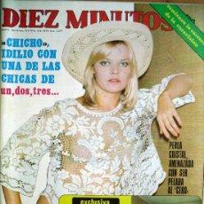 Collezionismo di Rivista Diez Minutos: DIEZ MINUTOS Nº 1277- 14/2/76-DOÑA CARMEN POLO-EL PRINCIPE FELIPE-MARY FRANCIS- . Lote 47256557