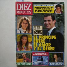 Coleccionismo de Revista Diez Minutos: DIEZ MINUTOS,ANGELA MOLINA-LOLA FLORES-BO DEREK-SYLVESTER STALLONE.. Lote 32424512