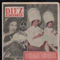 Coleccionismo de Revista Diez Minutos: REVISTA DIEZ MINUTOS - Nº 192. MAYO 1955. . Lote 32536207